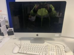 APPLE IMAC ALL IN ONE PC, INTEL CORE i3 PROCESSOR, 3.2GHZ, APPLE X OPERATING SYSTEM, 21.5 INCH