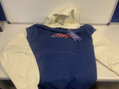 5 X BRAND NEW TGF CHILDISH THEME PARK HOODIES SIZE SMALL RRP £70 EACH