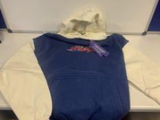 5 X BRAND NEW TGF CHILDISH THEME PARK HOODIES SIZE SMALL RRP £70 EACH