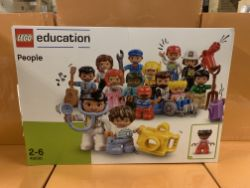 4 X BRAND NEW LEGO EDUCATION PEOPLE SETS