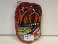 4 X BRAND NEW PROFESSIONAL BOOSTER CABLES 3M LENGTH 400 AMP