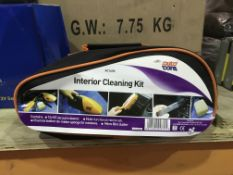 4 X AUTO CARE INTERIOR CLEANING KITS