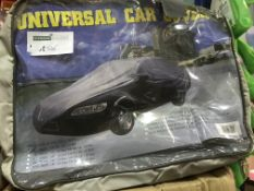 2 X UNIVERSAL CAR COVERS