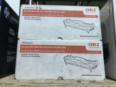 4 X OKI GENUINE IMAGE DRUM FOR B4100 / B4200 / B4250 / B4300 / B4350