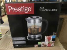 PRESTIGE 2 IN 1 TEA AND WATER KETTLE