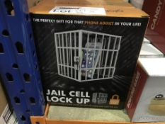 5 X GLOBAL GIZMOS JAIL CELL LOCK UP