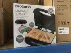 2 X PROGRESS SANDWICH TOASTERS