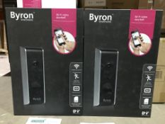 BYRON SMARTWARES WI-FI VIDEO DOORBELL
