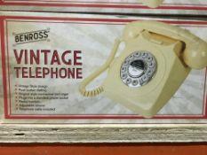 2 X BENROSS VINTAGE TELEPHONES
