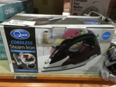 QUEST CORDLESS STEAM IRON
