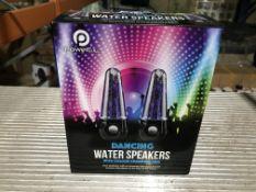 6 X DANCING WATER SPEAKERS