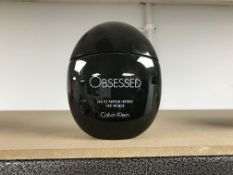 100ML BOTTLE OF CALVIN KLEIN OBSESSED EDP FOR WOMEN ( 100 - 70 % FULL )