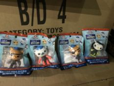 18 X OCTONAUTS FIGURES IN 1 BOX