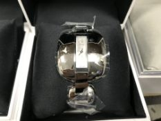 CALVIN KLEIN WRIST WATCH WITH METAL STRAP