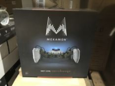 2 X MEKAMON ROBOTS ( UNTESTED RETURNS )