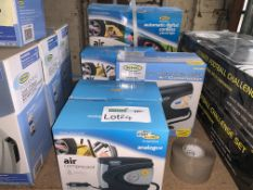 5 PIECE MIXED LOT INCLUDING VARIOUS RING AIR COMPRESSORS