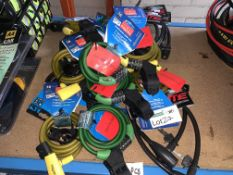 20 X BRAND NEW SQUIRE AND COYOTE CABLE LOCKS