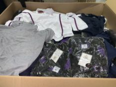 (NO VAT) 140 X BRAND NEW CHILDRENS POLO TOPS IN VARIOUS STYLES AND SIZES