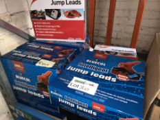 10 X BRAND NEW BLUECOL INTELLIGENT JUMPO LEADS