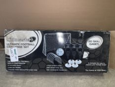 2 X BRAND NEW KICKSMASTER ULTIMATE FOOTBALL CHALLENGE SETS