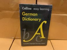 18 X BRAND NEW COLLINS EASY LEARNING GERMAN DICTIONARIES