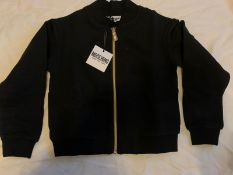 MOSCHINO COUTURE KIDS BLACK/GOLD JACKET - AGE 6