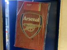 15 X BRAND NEW OFFICIAL ARSENAL FC PRINTED RUGS
