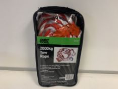 14 X BRAND NEW AUTOCARE 2000KG TOW ROPES
