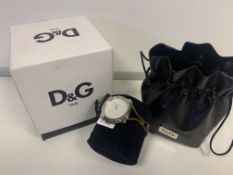 BRAND NEW RETAIL BOXED LADIES D & G WATCH