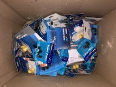 100 X BRAND NEW PACKS OF NOVELTY DUST CAPS