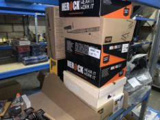7 X BRAND NEW VARIOUS WORK BOOTS IN VARIOUS SIZES INCLUDING SITE, HEROCK AND DEWALT