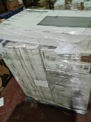 (M17) PALLET TO CONTAIN 10 x VARIOUS RETURNED TVS & A 99L AMBIANO CHEST FREEZER TO INCLUDE MEDION.