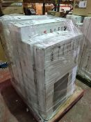 (M20) PALLET TO CONTAIN 7 x VARIOUS RETURNED TVS TO INCLUDE MEDION. SUCH AS: 43 & 50 INCH SMART FULL