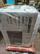 (M13) PALLET TO CONTAIN 8 x VARIOUS RETURNED TVS TO INCLUDE MEDION. SUCH AS: 43 & 50 INCH SMART FULL