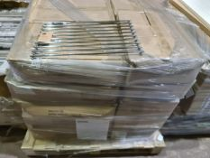 (P6) PALLET TO CONTAIN 15 x NEW SEALED 458MM INTERNAL GLASS SHELF SETS