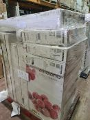 (M4) PALLET TO CONTAIN 11 x VARIOUS RETURNED TVS & A AMBIANO CHEST FREEZER TO INCLUDE MEDION. SUCH