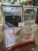 (M9) PALLET TO CONTAIN 4 X AMBIANO 99L CHEST FREEZERS. NOTE: ITEMS ARE CUSTOMER RETURNS. WE HAVE