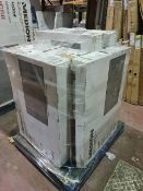 (M6) PALLET TO CONTAIN 10 x VARIOUS RETURNED TVS TO INCLUDE MEDION. SUCH AS: 43 & 50 INCH SMART FULL