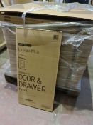 (P3) PALLET TO CONTAIN 180 x NEW BOXED GLOSS WHITE 400MM WIDE DOOR & DRAWER FRONT PACKS
