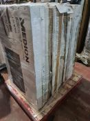 (M16) PALLET TO CONTAIN 7 x VARIOUS RETURNED TVS TO INCLUDE MEDION. SUCH AS: 43 & 50 INCH SMART FULL