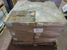 (P2) PALLET TO CONTAIN 150 x NEW CHROME STYLE LARGE KITCHEN POT/PAN MAT/ TREVEL. RRP £19 EACH
