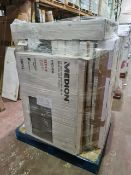 (M2) PALLET TO CONTAIN 10 x VARIOUS RETURNED TVS TO INCLUDE MEDION. SUCH AS: 43 INCH SMART FULL HD