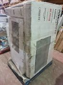 (M5) PALLET TO CONTAIN 9 x VARIOUS RETURNED TVS TO INCLUDE MEDION. SUCH AS: 43 INCH SMART FULL HD