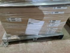 (P11) PALLET TO CONTAIN 47 x NEW BOXED CARISBROOKE CLAD ON WALL PANEL 760MM