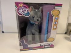 3 x NEW CLUB PETZ MYSTERY MAO INTERACTIVE CAT PLUSH TOY. RRP £59.99 EACH