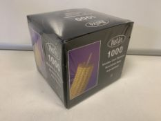 40000 X BRAND NEW BOXED WOODEN CORN SKEWERS IN 4 BOXES