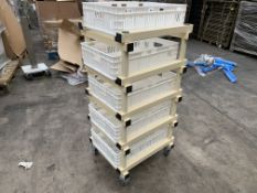 2 X BRAND NEW FRANKE PROFESSIONAL CATERING SEED TROLLIES