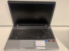 SAMSUNG 355V LAPTOP, AMD A8-4500M, WINDOWS 10, 250GB HARD DRIVE WITH CHARGER