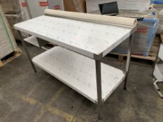BRAND NEW FRANKE PROFESSIONAL CATERING KNOCKOUT TABLE