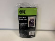 60 X BRAND NEW AUTOCARE CAR SEAT ORGANISERS